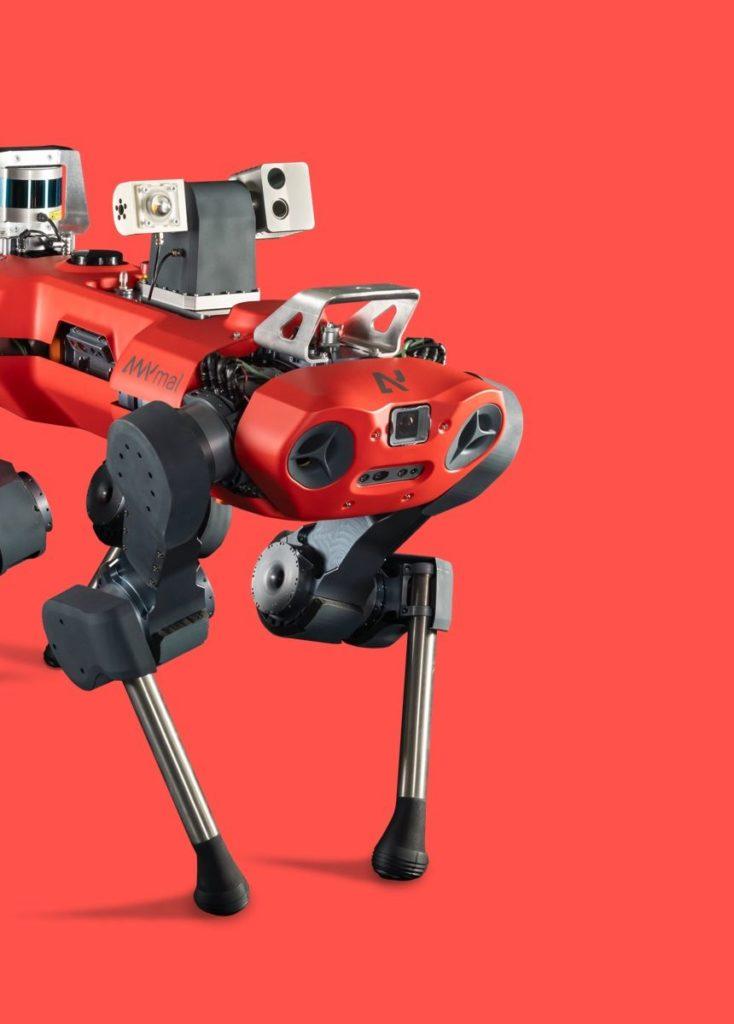Συνεργασία ANYbotics με Greatives Web για την ανάπτυξη της επίσημης ιστοσελίδας της Ελβετικής εταιρείας ρομποτικής