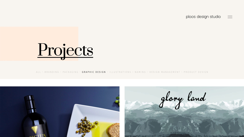 Ploos Design Studio - Website Development by Greatives Web